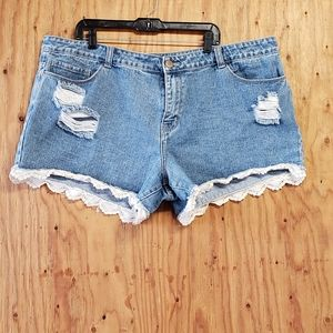 Forever 21 plus size shorts